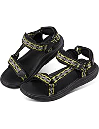 4d41a86c5425 UOVO Boys Sandals Girls Athletic Water Beach Sandals Open-Toe Outdoor Strap Sandals  Kids Summer Shoes…