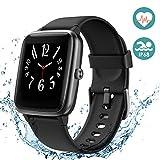 Arbily Fitness Tracker, Smartwatch con Touchscreen Completo per Donna Uomo Bambini Orologio Fitness Impermeabile IP68 con Cardiofrequenzimetro Pedometro Contapassi Monitoraggio del Sonno Cronometro