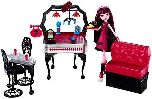 Mattel Monster High Y7719 -  Draculaura und Biss-tro, inklusive 1 Puppe (Von Monster High Draculaura)