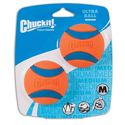ChuckIt! Medium Ultra Balls Classic 4-Pack