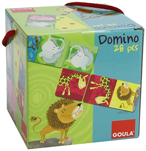 Goula - 53416 - Domino Carré Animaux