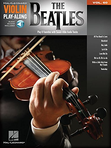 Violin Play-Along Volume 60: The Beatles (Book/Online Audio)