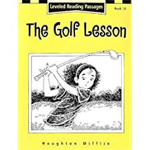 Houghton Mifflin Reading: The Nation's Choice: Guided Reading Level 4 the Golf Lesson