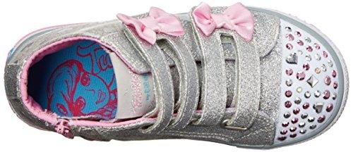 Skechers Mädchen Shuffles Doodle Days Sneaker Argent