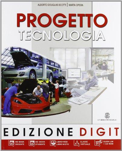 Progetto tecnologia vol. A (Tecnologia) + vol. B (Disegno) + lemmario illustrato + fascicolo