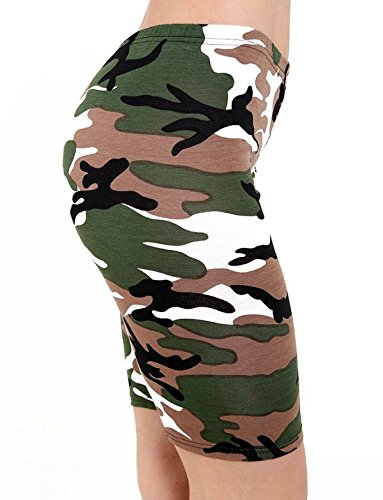 FZK FASHION Damen Short Camouflage
