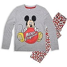 Pijama para Niños de manga larga de Disney con imagen de Mickey Mouse