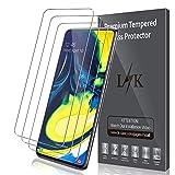 LK Protection écran pour Samsung Galaxy A80 [3 Pièces], Verre Trempé Protection Film [Max Coverage][sans Bulles][Garantie de Remplacement à Durée de Vie]