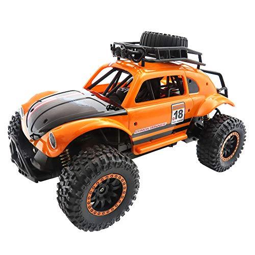 Liqiqi RC Cars, Off-Road Ferngesteuerte Autos 1/14 2,4 G 25 km/H Radio RC Racing Cars Elektro Fast Race Buggy Hobby Auto für Erwachsene & Kinder Orange
