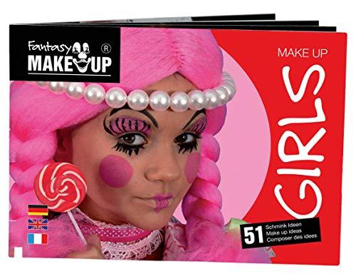 KREUL Fantasy Maquillage Livre Girls, 1 pièce