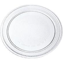 Europart para plato de microondas giratorio Universal plato con diseño plano para, 245 mm