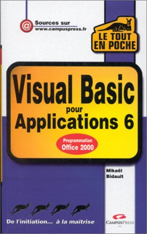 Visual Basic pour Applications 6
