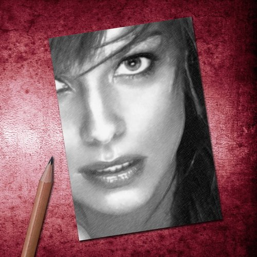 Seasons IZABELLA SCORUPCO - ACEO Sketch Card (Signed by the Artist) #js001