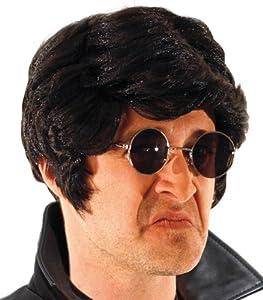 Party Pro peluca, unisex adulto, 87326003, Negro, talla única