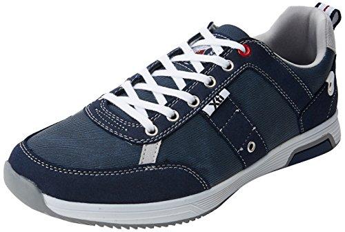 Xti 47151, Sneakers Basses Homme Bleu (Navy)