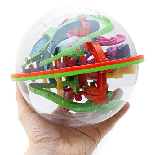3D Kugellabyrinth Kugelspiel Magic Maze Kugel-Labyrinth Puzzle Ball Geschicklichkeitsspiel 20cm XXL
