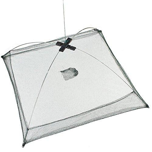 NiceButy bewegliche Falten Netzs Fisch und Garnelen Min Fisch Krebse Krabbe Köder automatische Netz Outdoor-Sport-Produkte -