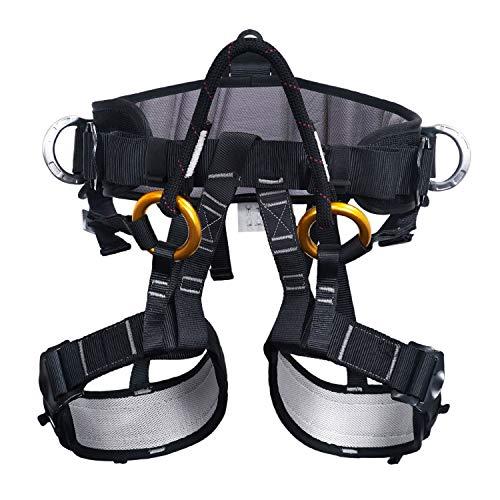 ENJOHOS Babimax Sicherheitsgurt Mehrzweck Klettergurt Taille Hüfte Schutz Gürtel für Bergsteigen Baumklettern Absturzsicherung Outdoor
