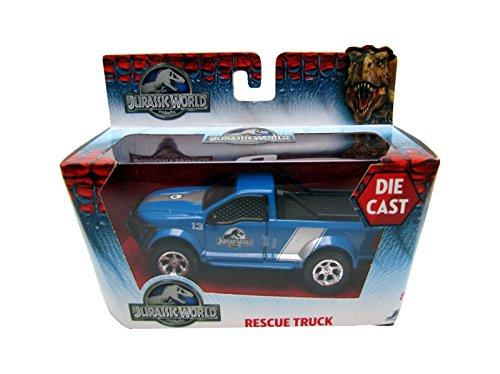 Jada Toys - 24038_03 - Véhicule Miniature - Modèle À L'échelle - Dodge Rescue Truck - Jurassic World 2015 - Echelle 1/43.32