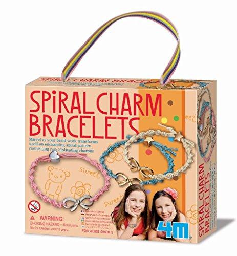 4 m spirale Charm Bracelets