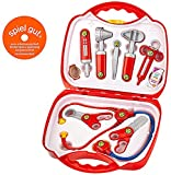 Theo Klein 4383 Rescue Team Max & Dr. Kim Doctor Case, Toy, Multi-Colored