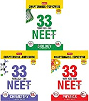 33 Years NEET-AIPMT Chapterwise Solutions - Biology 2020+33 Years NEET-AIPMT Chapterwise Solutions - Chemistry