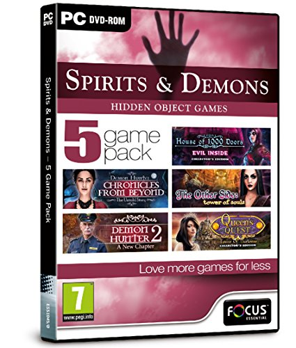 Spirits and Demons - 5 Game Pack...