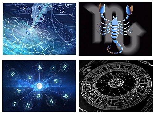 Set 4 Tovagliette segno zodiacale Scorpione