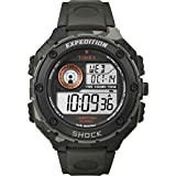 Expedition Men's Digital Watch with LCD Dial Digital Display and Resin Strap T49981
