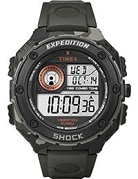 Timex Herren-Armbanduhr Digital Quarz Plastik T49981