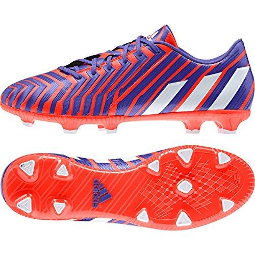 Rasen Fußballschuhe Predator Absolado Instinct FG Black/Red/White SOLRED/FTWWHT/NGTFLA