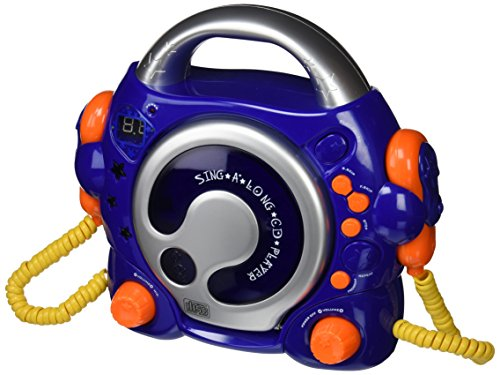 bigben-audio-cd47bl-lecteur-cd-avec-2-micros-bleu