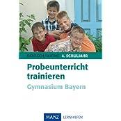 Probeunterricht trainieren Gymnasium Bayern: Mit Lösungen