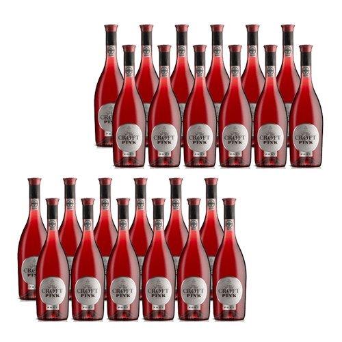 Portwein Croft Pink - Dessertwein - 24 Flaschen