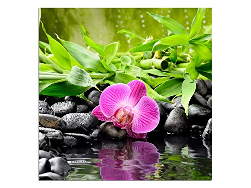 Glasbilder QUADRATISCH Echtglas Wandbilder Foto auf Glas Deco Glas EGQ00077 Größe 50 x 50 cm