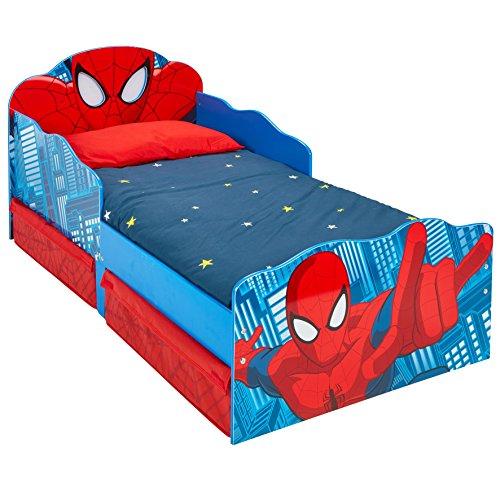 Jungs im Design von Spider-Man, mit beleuchteten Augen und Stauraum ()
