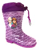 Disney Frozen Die Eiskönigin Mädchen Gummistiefel (22, Lila)