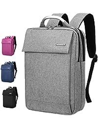 Maletín para portátil Mochila para computadora portátil, mochila de negocios delgada cabe bajo 14 /