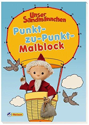 Unser Sandmännchen, Punkt-zu-Punkt-Malblock (Lernen, Zu Zeichnen Für Kinder)