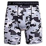XXYsm Herren Boxer Shorts Bermuda Sport Sommer Shorts Fitness Gym Kurze Hosen Bademode Schnelltrocknend