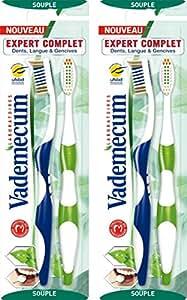 Vademecum - Brosse à Dents Expert Complet - Souple - 2 Brosses - Lot de 2