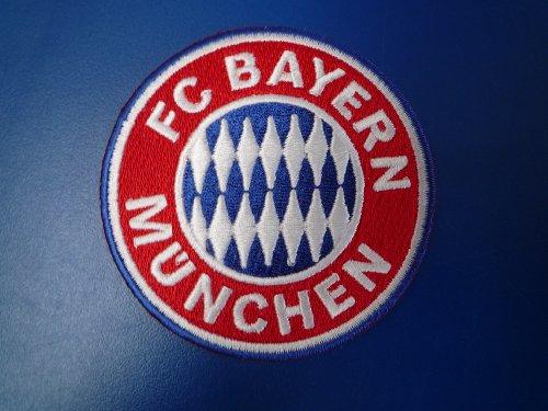 Aufnäher Emblem klein FC Bayern München