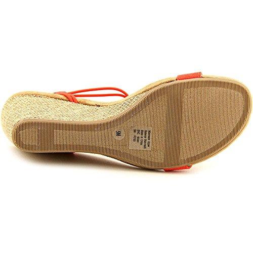 Style & Co Mulan Synthétique Sandales Compensés Corail brillant