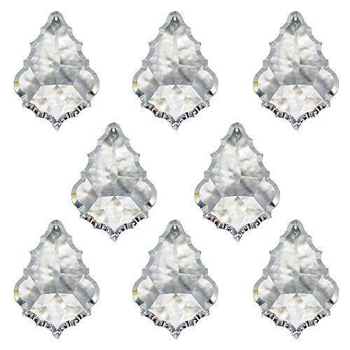 Christoph Palme Leuchten Swarovski Cristal Colgante Barroco 38mm 8Unidades Colgante oque Ventana Joyas y Accesorios de Accesorios Sol atrapasueños Arco Iris Cristal Feng Shui Alto Brillant
