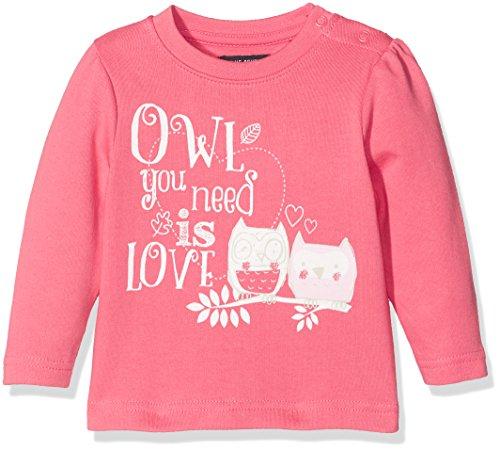 BLUE SEVEN Baby-Mädchen Sweatshirt 957017 X, Violett (Azalee Orig 419), 80