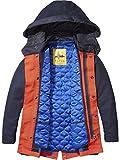 Scotch & Soda Shrunk Jungen Jacke Parka Jacket, Blau (Navy 03), 152 (Herstellergröße: 12)