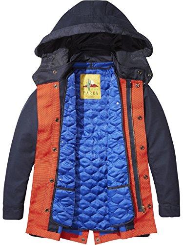 Scotch & Soda Shrunk Jungen Jacke Parka Jacket, Blau (Navy 03), 152 (Herstellergröße: 12) Preisvergleich