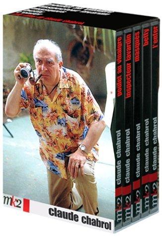 Coffret Claude Chabrol 5 DVD - Vol.2 : Betty / L'Enfer / Masques / Inspecteur Lavardin / Poulet au vinaigre