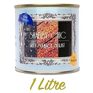 Style shabby chic Multi Surface d'étanchéité pour peinture à la craie clair 1litre faible Sheen