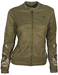 khujo Damen Jacke Orianna Embroidery Jacket